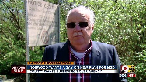 Norwood wants a say in MSD plan