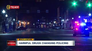 Local police curtailing some drug field tests for safety reasons - Video