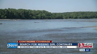 Search for missing Omaha girl continues near Platte River