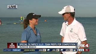 Special Olympics S.U.P. Team preps for competition - Video
