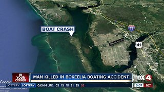 Man killed in Bokeelia boating accident