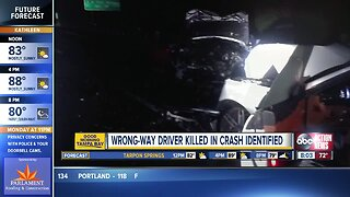 Wrong-way driver identified after deadly head-on crash
