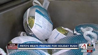 Turkey connoisseurs again flock to Fritz's as Thanksgiving approaches