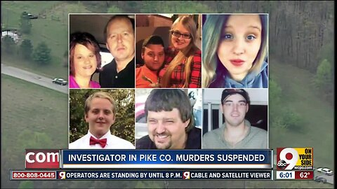 Investigator in Pike County murders suspended