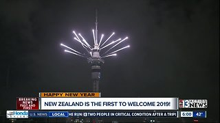 New Zealand rings in new year - Video