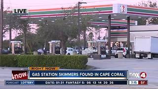 Skimmer found inside Cape Coral gas pump - Video