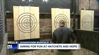 Hatchets and Hops offers unique, rustic experience - Video