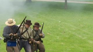 CIVIL WAR REENACTMENT - Video