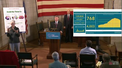 NE Gov. Ricketts holds COVID-19 press conference