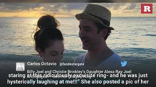 Alexa Ray Joel is engaged | Rare People - Video
