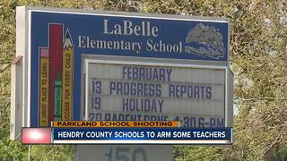Hendry County Schools to Arm Some Teachers - Video