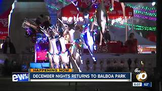 December Nights in Full Swing at Balboa Park - Video