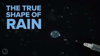 What Do Raindrops Really Look Like?
