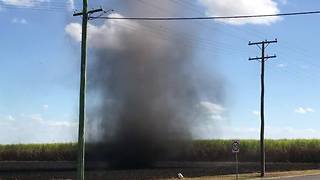 Dust Devil Caught on Camera in Bundaberg