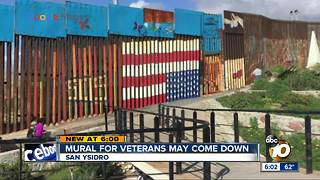 Flag mural in Mexico may come down - Video