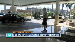 Tampa Bay hotels beef up security after Las Vegas shooting - Video