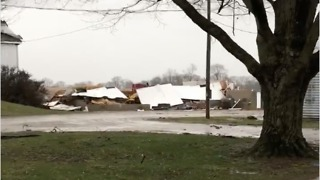 Farm Property Destroyed During Tornado-Warned Storm in Xenia - Video