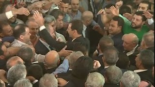 Assad Participates Eid al-Adha Prayers in Qarah Town - Video