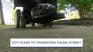 City plans to transform Young Street - Video
