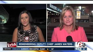 Team coverage: Deputy Chief James Waters procession and funeral - Video
