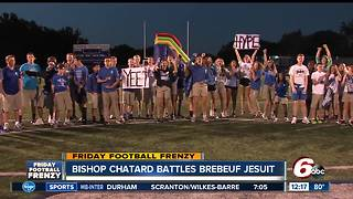 Bishop Chatard students on Friday Football Frenzy