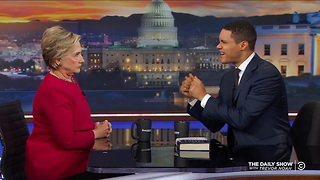 Hillary Clinton - 'What Happened' & What Comes Next for America- The Daily Show - Video