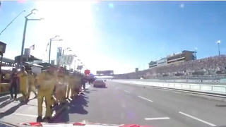Dale Earnhardt Jr. final laps Miami, memorable moments - Video