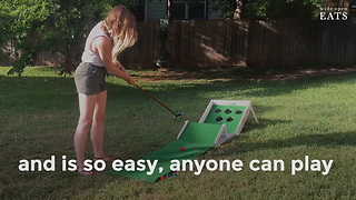 Putter Pong: Your New Favorite Tailgating Game - Video