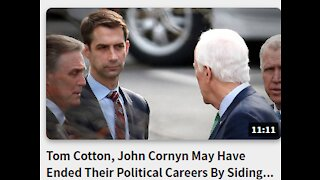 Tom Cotton, John Cornyn May Have Ended Their Political Careers By Siding With Biden Over Trump