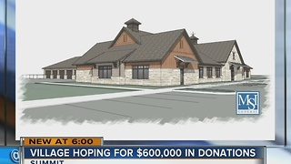 Local village turns to donations for future construction - Video