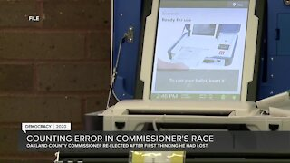 Counting error in Rochester Hills commissioner's race