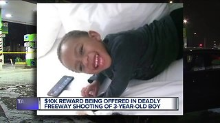 $10,000 reward offered for info leading to arrest in 3-year-old's murder