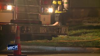 Two displaced after Appleton duplex fire - Video