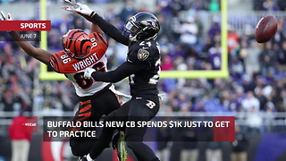 Buffalo Bills CB Spends $1K Just To Get To Practice - Video