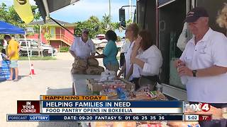 Second food pantry opens in Lee County