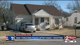 One dead, two officers injured after shooting