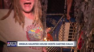 Erebus Haunted Attraction hiring 'scare actors' for upcoming season - Video