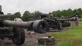 86th Infantry Brigade Combat Team (Mountain) Artillery Training - Video