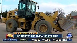 Habitat for Humanity breaking ground on new Denver project