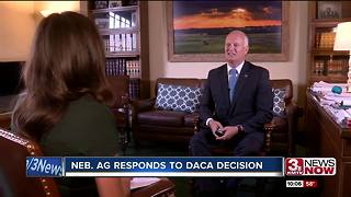 Nebraska Attorney General responds to DACA decision - Video