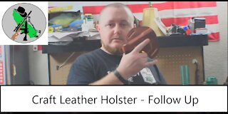 Craft OWB Leather Holster - Follow Up