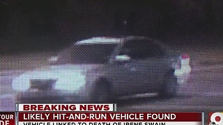 Cincinnati police have car suspected in hit-and-run death of Irene Swain - Video