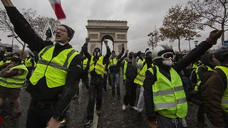 France's Economy Takes A Hit As 'Yellow Vest' Protests Continue