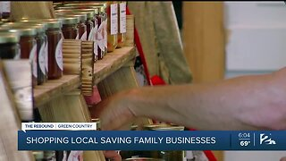 Shopping local saving family businesses