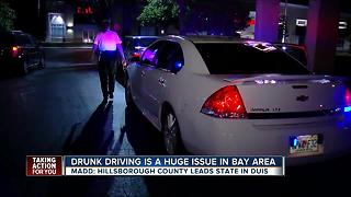 Drunk driving is a huge issue in the Tampa Bay area - Video