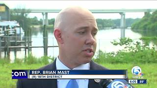 Congressman Brian Mast offers no reaction to president's remarks - Video