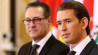 Austrian chancellor Kurz to issue chancellor on strache scandal