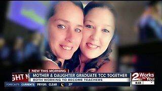 Mother & daughter graduate Tulsa Community College together