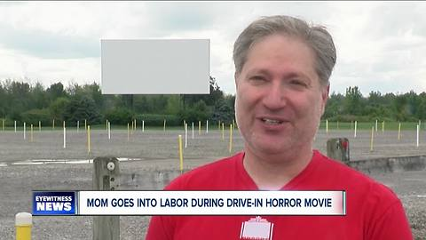 Woman goes into labor during movie but car is dead