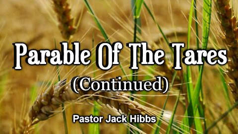 Parable Of The Tares - Continued